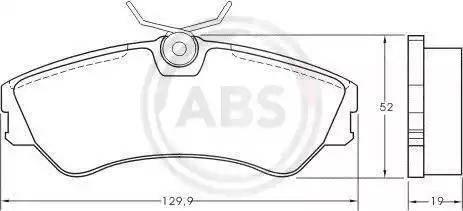 A.B.S. 36752 - Piduriklotsi komplekt,ketaspidur multiparts.ee
