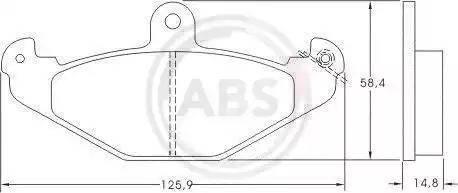 A.B.S. 36788 - Piduriklotsi komplekt,ketaspidur multiparts.ee