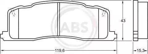 A.B.S. 36734 - Piduriklotsi komplekt,ketaspidur multiparts.ee