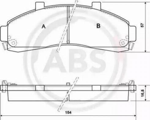 A.B.S. 38652 - Piduriklotsi komplekt,ketaspidur multiparts.ee