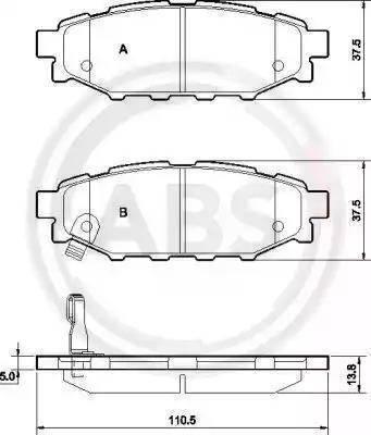 A.B.S. 37499 - Piduriklotsi komplekt,ketaspidur multiparts.ee