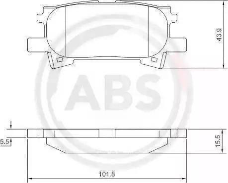 A.B.S. 37459 - Piduriklotsi komplekt,ketaspidur multiparts.ee