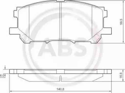 A.B.S. 37458 - Piduriklotsi komplekt,ketaspidur multiparts.ee