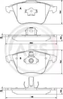 A.B.S. 37464 - Piduriklotsi komplekt,ketaspidur multiparts.ee