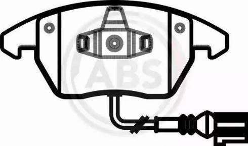 A.B.S. 37414 - Piduriklotsi komplekt,ketaspidur multiparts.ee
