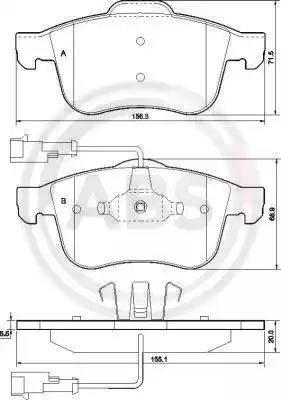 A.B.S. 37485 - Piduriklotsi komplekt,ketaspidur multiparts.ee