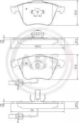 A.B.S. 37428 - Piduriklotsi komplekt,ketaspidur multiparts.ee
