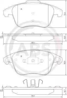 A.B.S. 37599 - Piduriklotsi komplekt,ketaspidur multiparts.ee