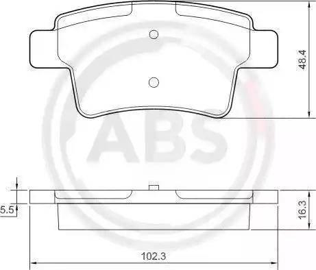 A.B.S. 37597 - Piduriklotsi komplekt,ketaspidur multiparts.ee