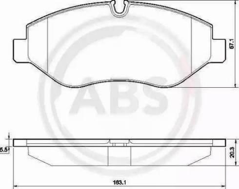 A.B.S. 37553 - Piduriklotsi komplekt,ketaspidur multiparts.ee