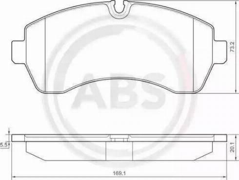 A.B.S. 37552 - Piduriklotsi komplekt,ketaspidur multiparts.ee