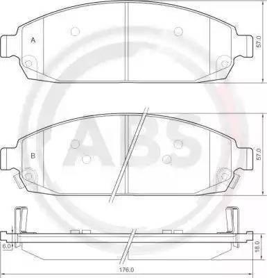 A.B.S. 37517 - Piduriklotsi komplekt,ketaspidur multiparts.ee