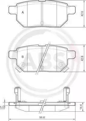A.B.S. 37580 - Piduriklotsi komplekt,ketaspidur multiparts.ee