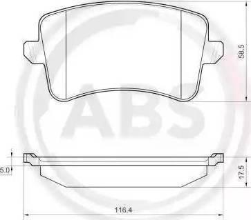 A.B.S. 37588 - Piduriklotsi komplekt,ketaspidur multiparts.ee