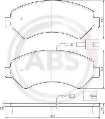 A.B.S. 37576 - Piduriklotsi komplekt,ketaspidur multiparts.ee