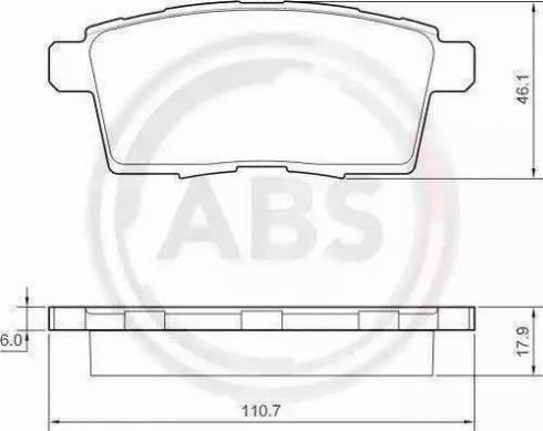 A.B.S. 37644 - Piduriklotsi komplekt,ketaspidur multiparts.ee