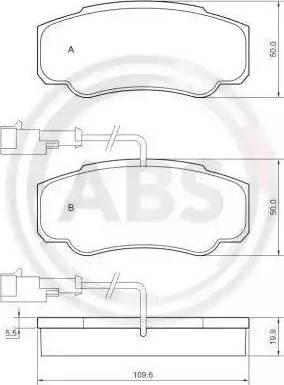 A.B.S. 37666 - Piduriklotsi komplekt,ketaspidur multiparts.ee