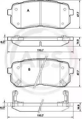 A.B.S. 37619 - Piduriklotsi komplekt,ketaspidur multiparts.ee