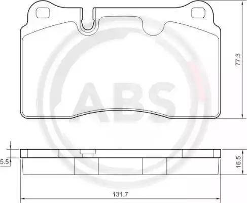 A.B.S. 37614 - Piduriklotsi komplekt,ketaspidur multiparts.ee