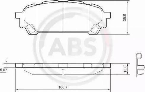 A.B.S. 37611 - Piduriklotsi komplekt,ketaspidur multiparts.ee