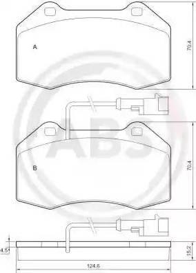 A.B.S. 37688 - Piduriklotsi komplekt,ketaspidur multiparts.ee