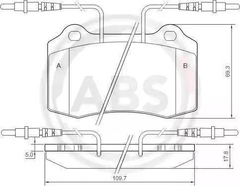 A.B.S. 37049 - Piduriklotsi komplekt,ketaspidur multiparts.ee