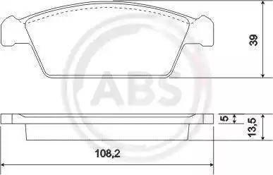 A.B.S. 37002 - Piduriklotsi komplekt,ketaspidur multiparts.ee