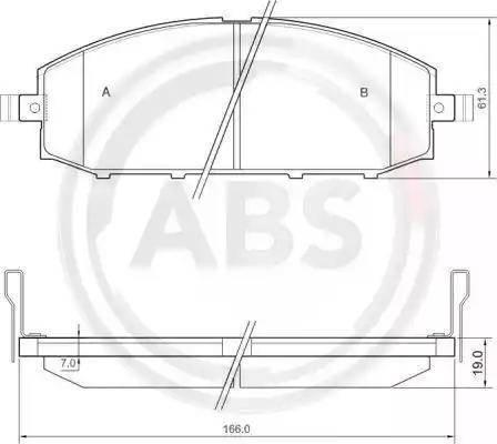 A.B.S. 37084 - Piduriklotsi komplekt,ketaspidur multiparts.ee