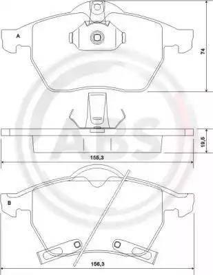 A.B.S. 37116 - Piduriklotsi komplekt,ketaspidur multiparts.ee