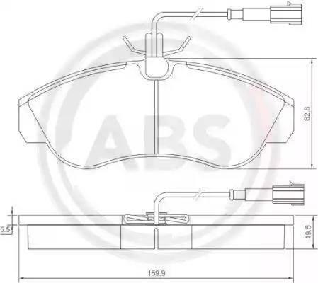 A.B.S. 37171 - Piduriklotsi komplekt,ketaspidur multiparts.ee