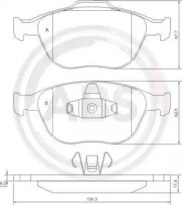 A.B.S. 37349 - Piduriklotsi komplekt,ketaspidur multiparts.ee