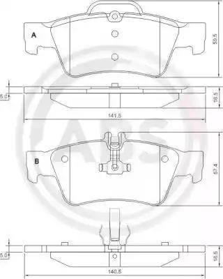 A.B.S. 37319 - Piduriklotsi komplekt,ketaspidur multiparts.ee