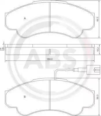 A.B.S. 37332 - Piduriklotsi komplekt,ketaspidur multiparts.ee