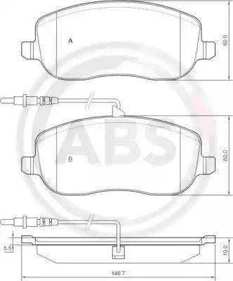A.B.S. 37329 - Piduriklotsi komplekt,ketaspidur multiparts.ee