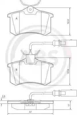 A.B.S. 37214 - Piduriklotsi komplekt,ketaspidur multiparts.ee