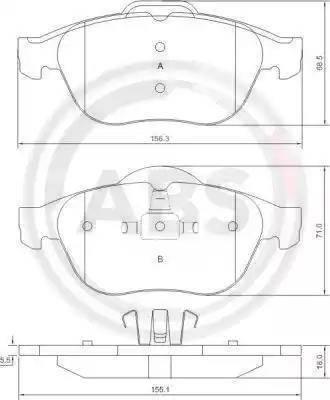 A.B.S. 37218 - Piduriklotsi komplekt,ketaspidur multiparts.ee