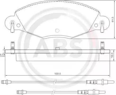 A.B.S. 37285 - Piduriklotsi komplekt,ketaspidur multiparts.ee