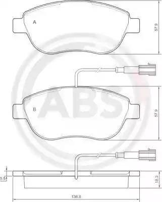 A.B.S. 37282 - Piduriklotsi komplekt,ketaspidur multiparts.ee