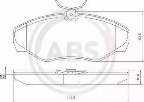 A.B.S. 37287 - Piduriklotsi komplekt,ketaspidur multiparts.ee