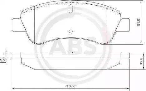 A.B.S. 37272 - Piduriklotsi komplekt,ketaspidur multiparts.ee