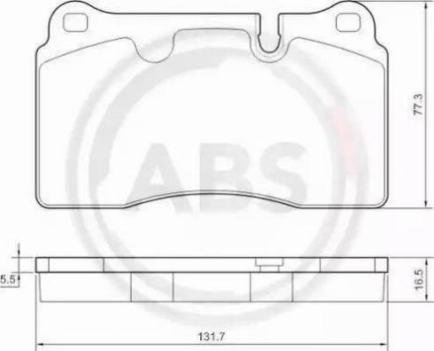 A.B.S. 37712 - Piduriklotsi komplekt,ketaspidur multiparts.ee