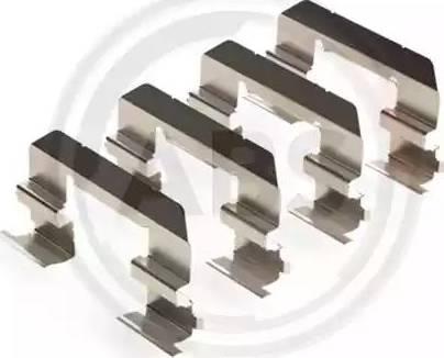 A.B.S. 2003Q - Lisakomplekt, ketaspiduriklotsid multiparts.ee