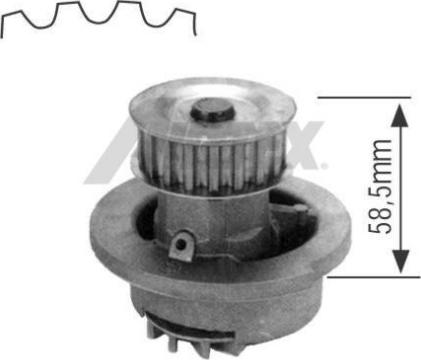 Airtex 1164 - Veepump multiparts.ee