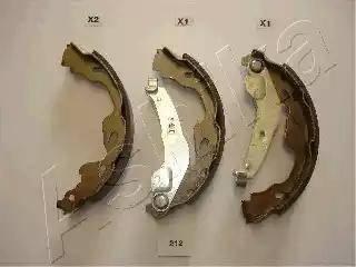 Ashika 55-02-212 - Piduriklotside komplekt multiparts.ee