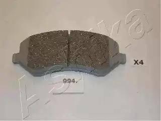 Ashika 50-09-994 - Piduriklotsi komplekt,ketaspidur multiparts.ee