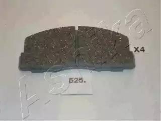 Ashika 50-05-525 - Piduriklotsi komplekt,ketaspidur multiparts.ee
