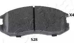 Ashika 50-05-528 - Piduriklotsi komplekt,ketaspidur multiparts.ee
