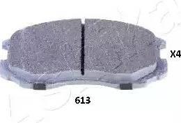 Ashika 50-06-613 - Piduriklotsi komplekt,ketaspidur multiparts.ee