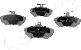 Ashika 50-00-0084 - Piduriklotsi komplekt,ketaspidur multiparts.ee