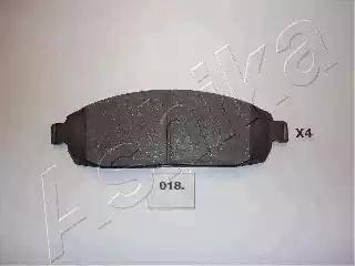Ashika 50-00-018 - Piduriklotsi komplekt,ketaspidur multiparts.ee